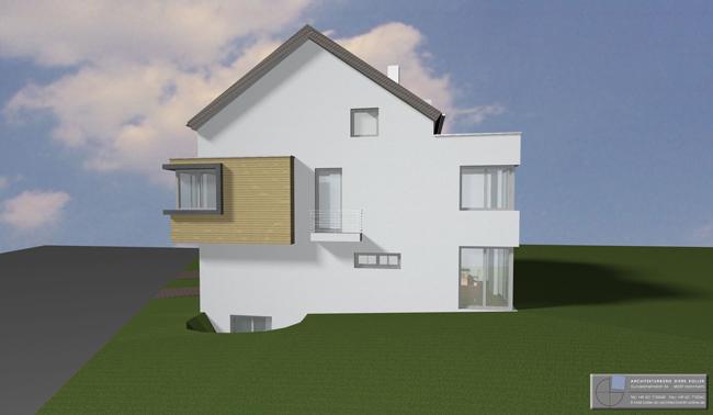 Architekturbüro Dierk Koller - Wohnhaus Malschenberg