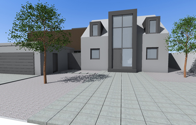 Architekturbüro Dierk Koller - Wohnhausentwurf Homburg