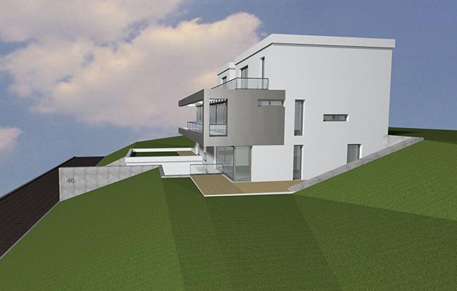 Architekturbüro Dierk Koller - Wohnhausentwurf Nussloch