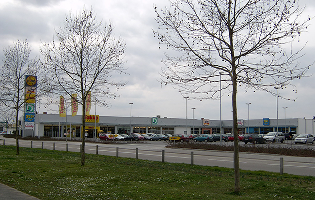 Architekturbüro Dierk Koller - Fachmarktzentrum Worms