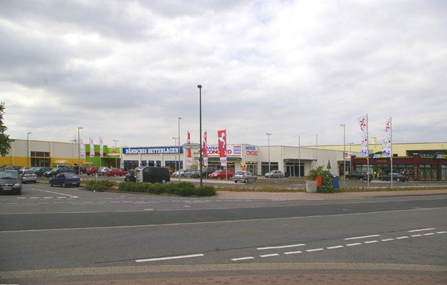 Architekturbüro Dierk Koller - Fachmarktzentrum Dormagen